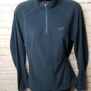 The North Face 1/4 zip fleece sweater